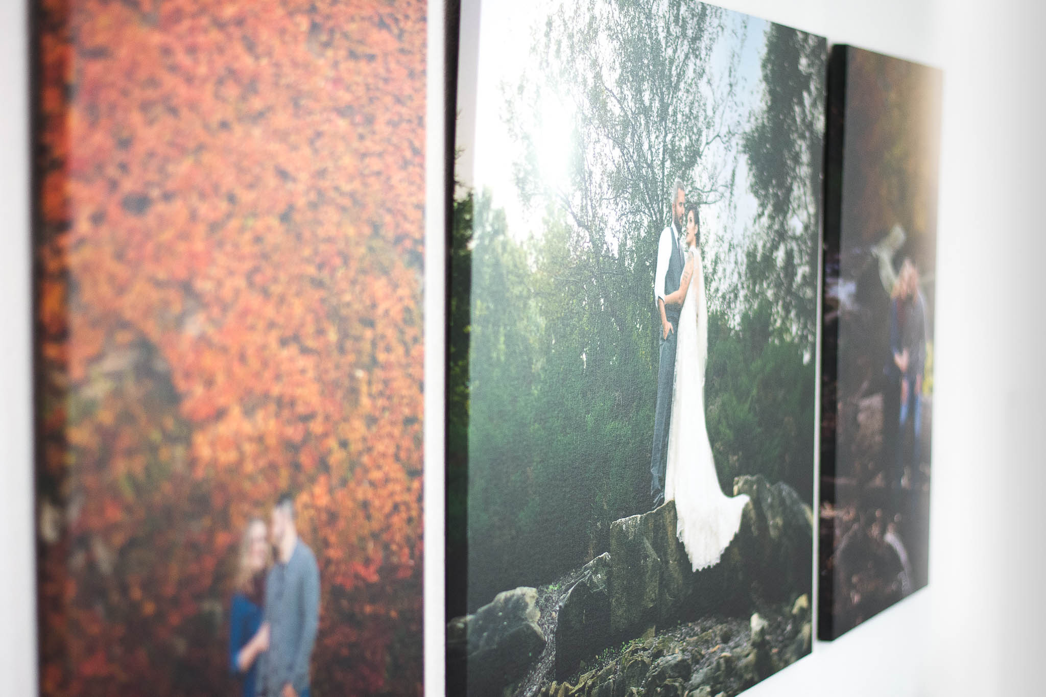 Wall art Canvases in Kropp Photography Portrait Studio