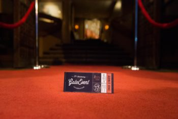 Red Carpet Event with Ticket in the Foreground | Kropp Photography