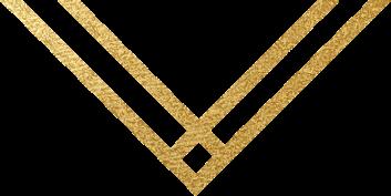 gold down arrow