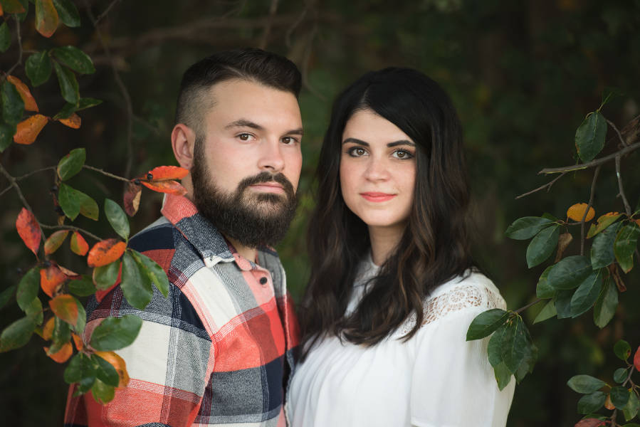 David + Maria | Engagement Photos in Chagrin Falls, Ohio