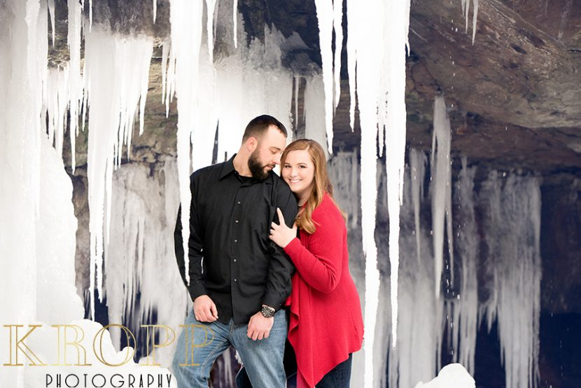 James + Kelsy | Engagement Photos in Mill Creek Park - Youngstown, Ohio