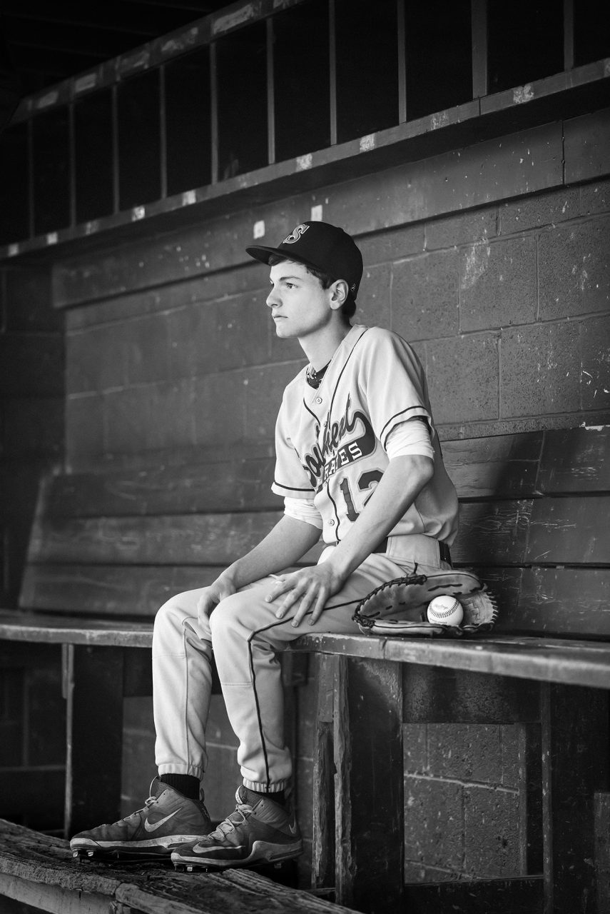 Senior Portraits Sports Baseball Northeast Ohio
