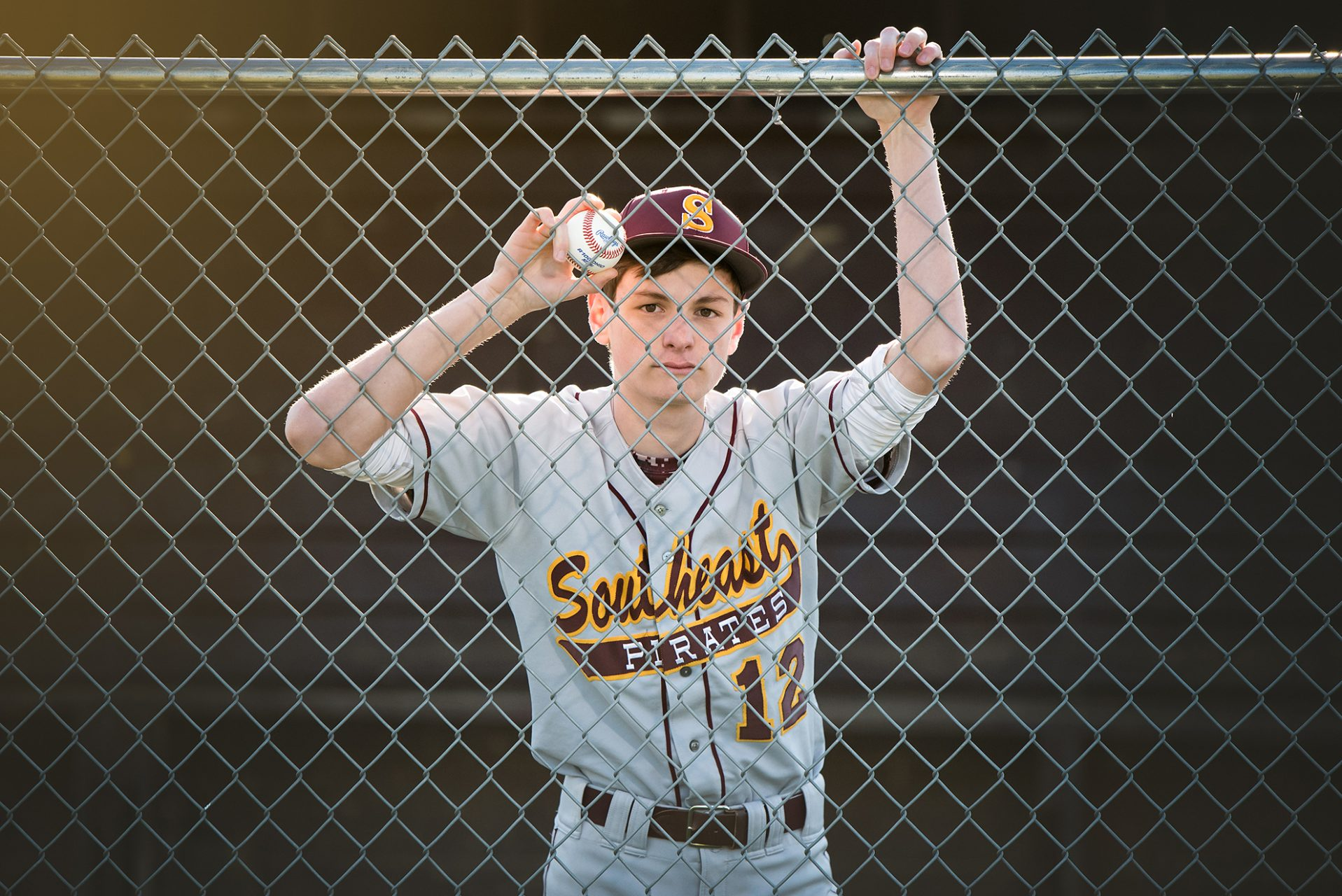 Senior Boy Sports Pictures Baseball