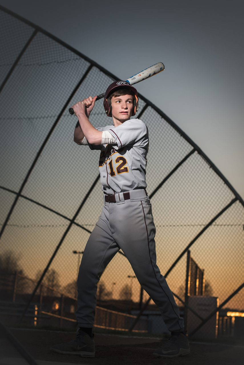 Senior Sports Pictures Baseball Warren Ohio