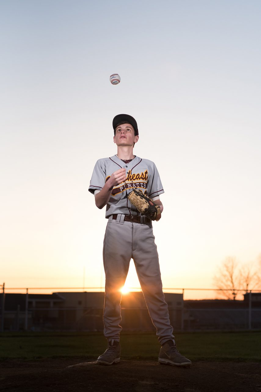 Senior Sports Pictures Baseball Ohio