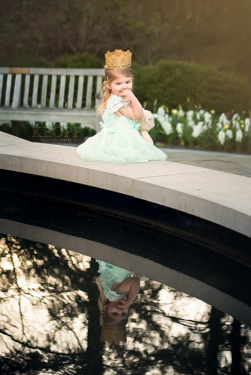 Amelia's 3rd Birthday | Fellows Riverside Garden in Mill Creek Park