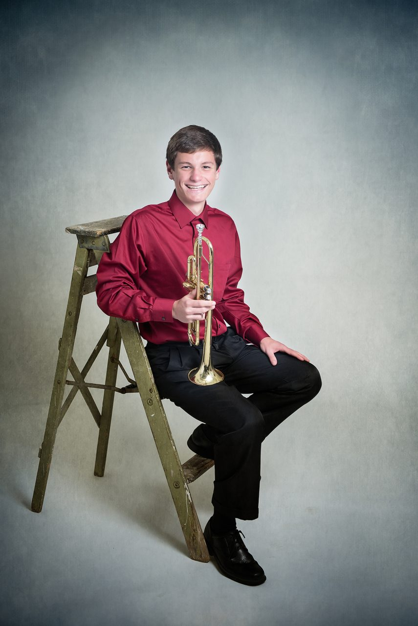 Senior Portraits Band Ravenna Ohio