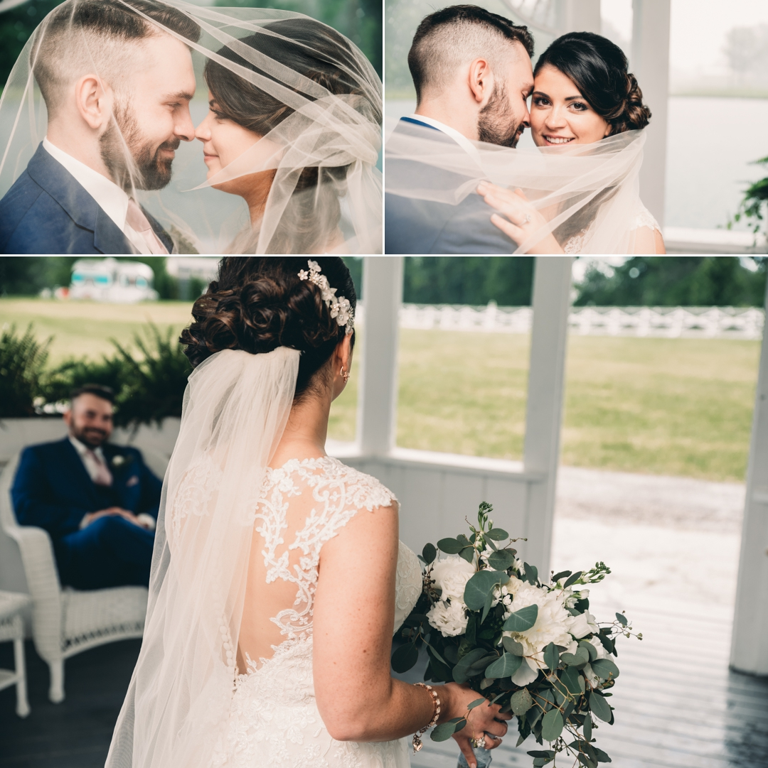 David + Maria | Wedding at The Place At 534 | Bride and Groom on Wedding Day