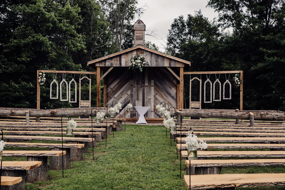 Dave + Maria | The Place At 534 | Outdoor Ceremony in West Farmington Ohio
