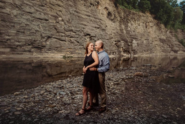 Lara + Karl | Rocky River Reservation Engagement Session