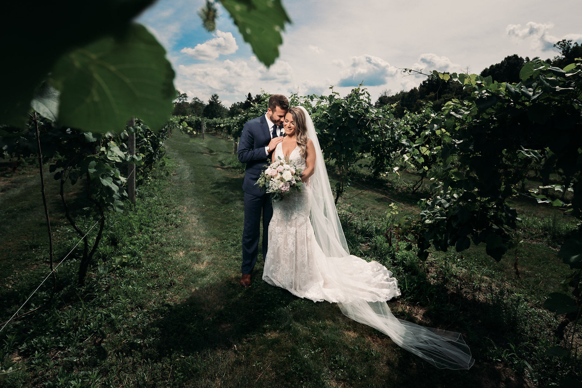 Vineyards at Pine Lake Wedding of Jenna and Andrew by Kropp Photography