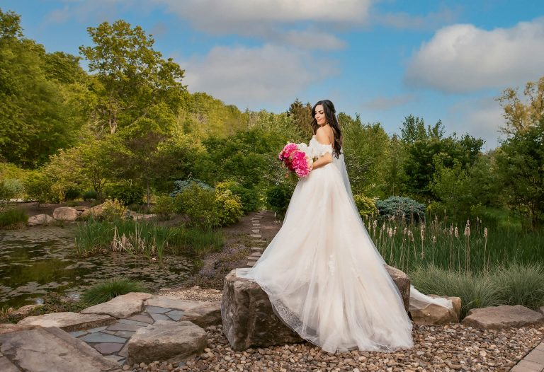 bride at highfields event center wedding in 2021 by Kropp Photography