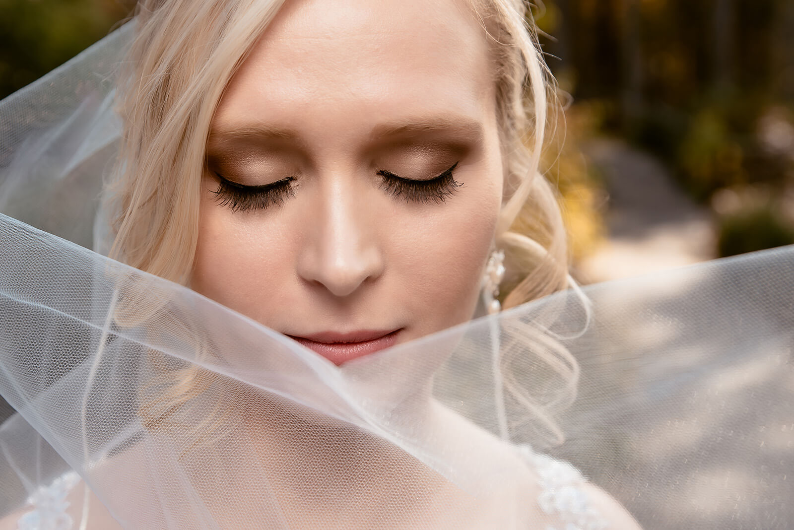 Stunning Bride on her Wedding Day at Sapphire Creek Winery
